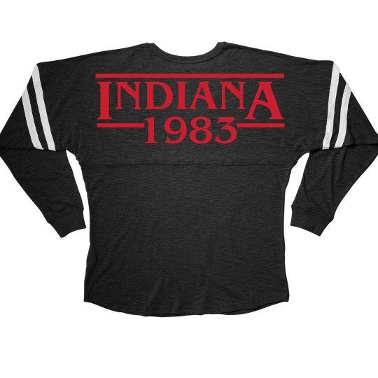 Metallic Red Indiana 1983