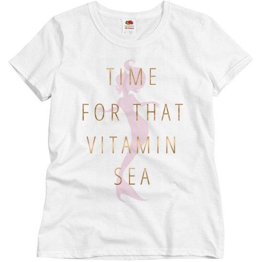 Metallic Trendy Vitamin Sea