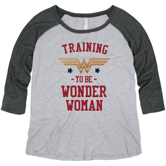 Metallic Wonder Woman Training