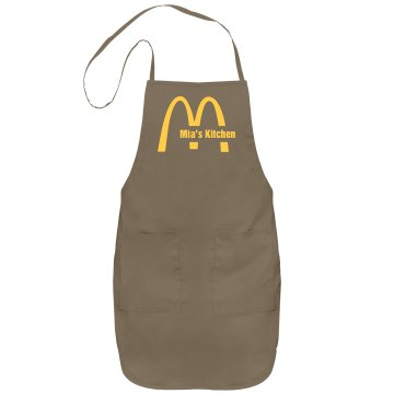 Mia's Kitchen Apron
