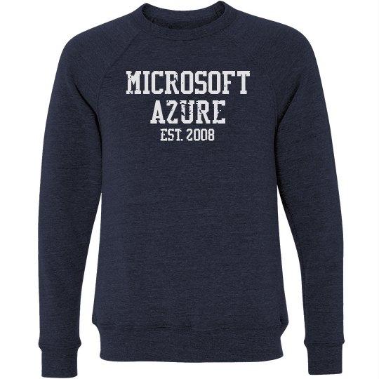 Microsoft Azure Est. 2008 Crewneck Sweater Navy