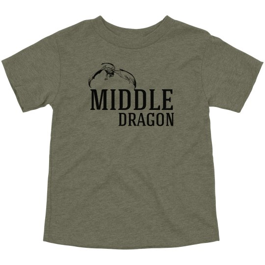 Middle Dragon Matching Tees