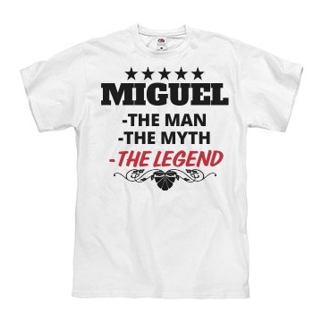 Miguel - the man!