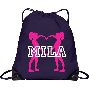 Mila cheer bag