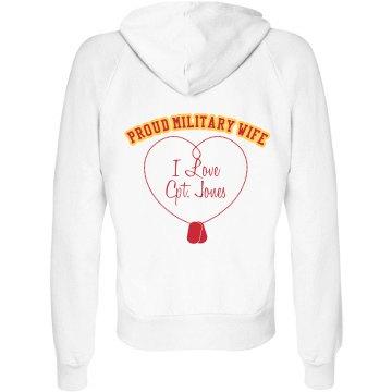Military Wife Hoodie
