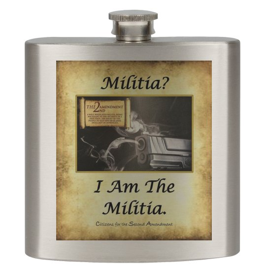 Militia? I Am The Militia. - Flask