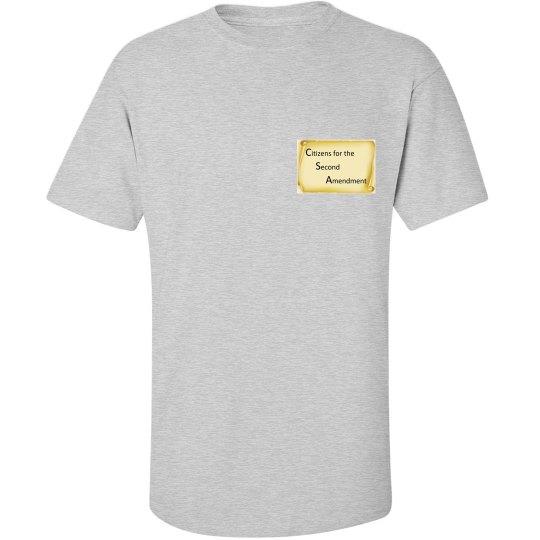 Militia? I Am The Militia - T-shirt in Tall