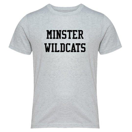 minster wildcat youth tee