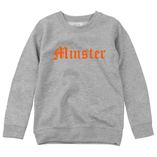 Minster youth crewneck