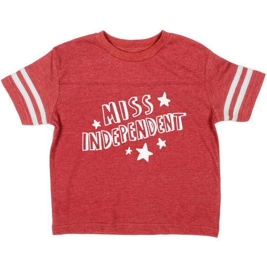 Miss Independent Toddler Tee