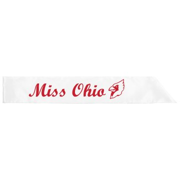 Miss Ohio Sash