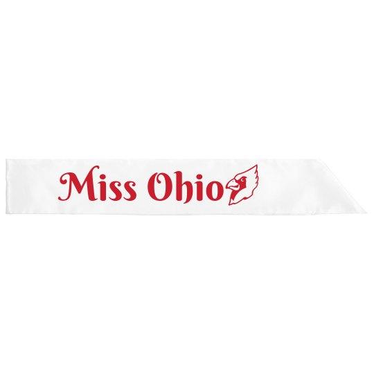 Miss Ohio Sash