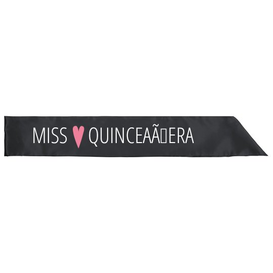 Miss Quinceañera 15th Birthday