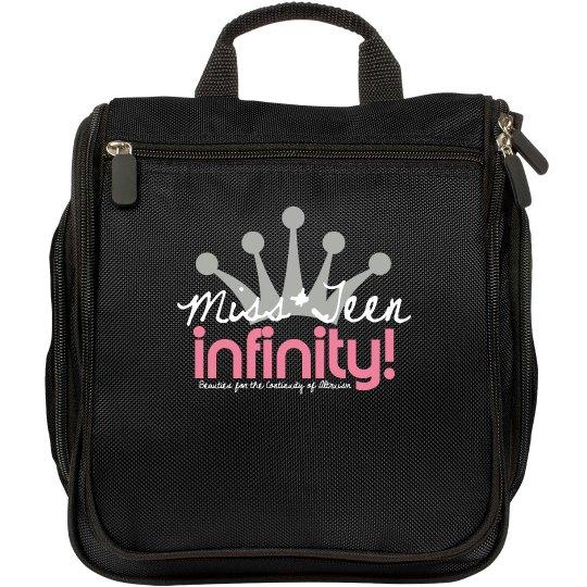 MISS TEEN INFINITY Logo Make-up Bag