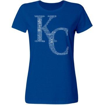 Misses 2017 KC Royals WORD T