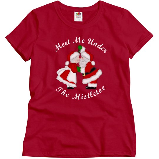 Mistletoe Santa