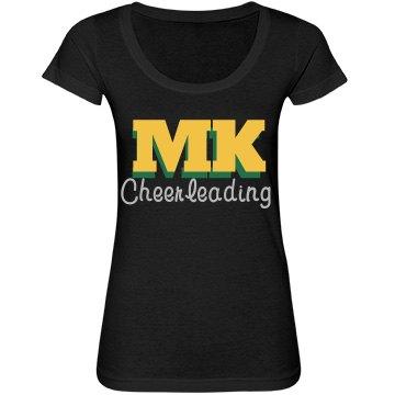 MK cheer tee