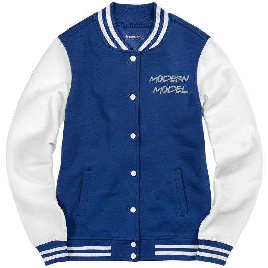 Modern Model Letterman Jacket