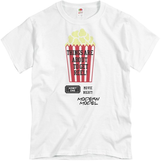 MODERN MODEL MOVIE NIGHT UNISEX SHIRT