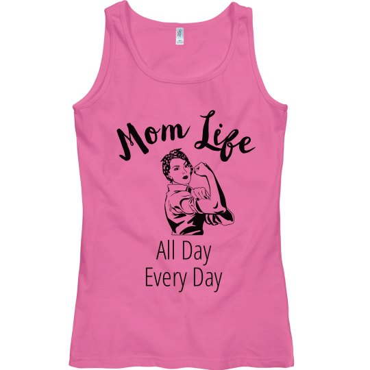 Mom Life All Day Every Day Tank