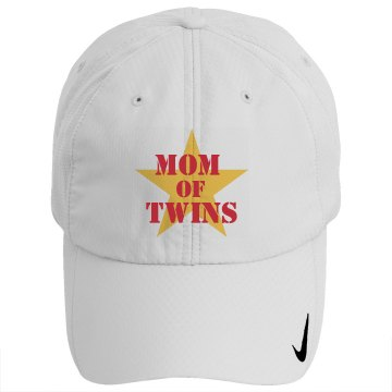 Mom of Twins Star Hat