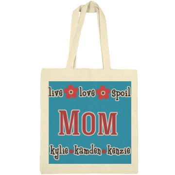 Mom Personalized Tote Bag Gift