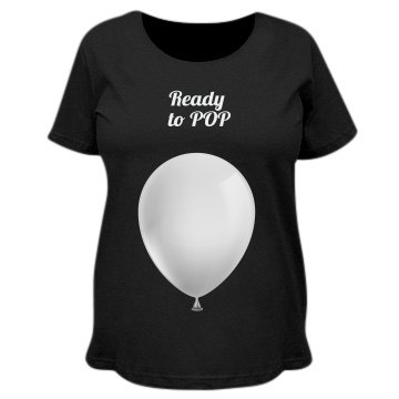 Mom ready to pop - Ballon