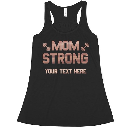 Mom Strong Copper Metallic