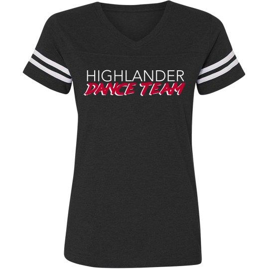 Mom V Neck Fan Shirt
