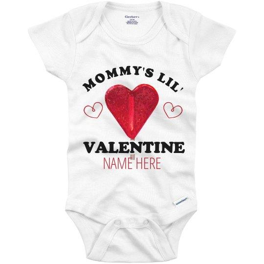 Mommy's Custom Lil' Valentine