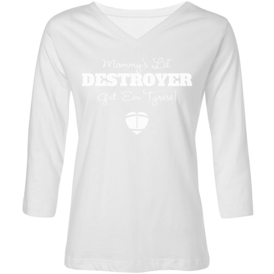 Mommy's DESTROYER! Funny Football Mom