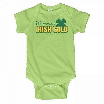 Mommy's Irish Gold Baby