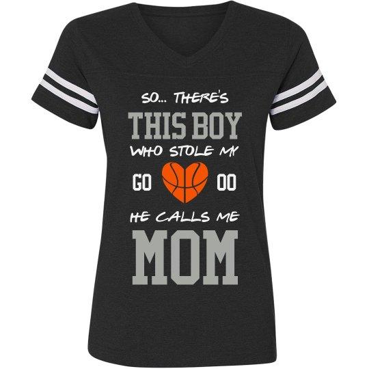 Mom's Basketball Jersey