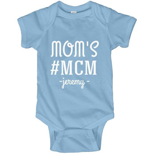 Mom's #MCM Custom Name Bodysuit