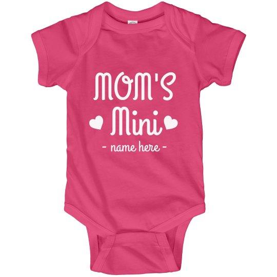 Mom's Mini Custom Baby Bodysuit