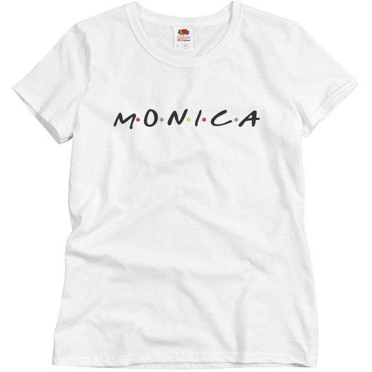 Monica Rachel Best Friend Tees