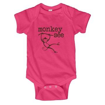 Monkey See Hanging