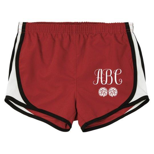 Monogram Cheer Shorts