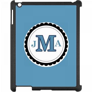 Monogram iPad Case