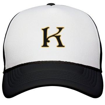 Monogrammed letter K