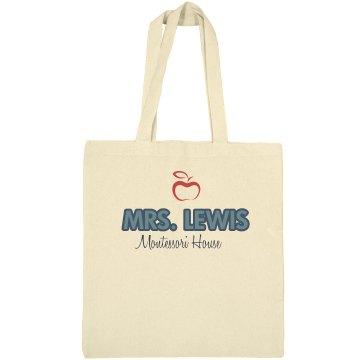 Montessori Teacher Bag