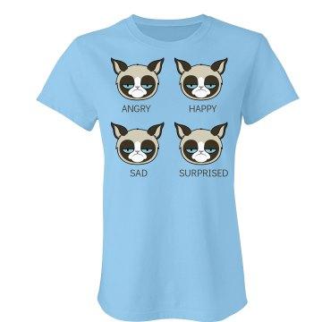 Moods of a Grumpy Cat