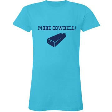 More Cowbell-blue