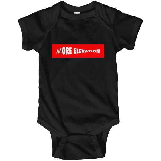More Elevation Baby Onesie
