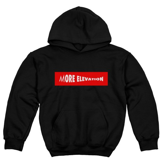 More Elevation Youth Hoody
