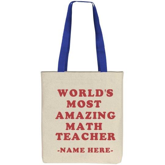 Most Amazing Math Teacher Gift
