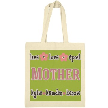 Mother Personalized Tote Bag Gift