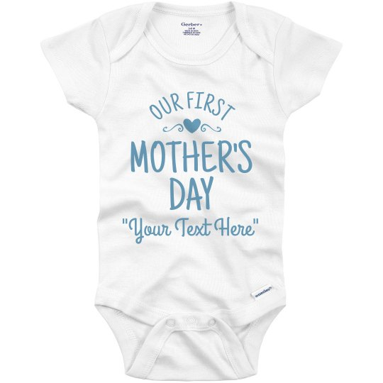 Mother's Day Gift From Baby Boy