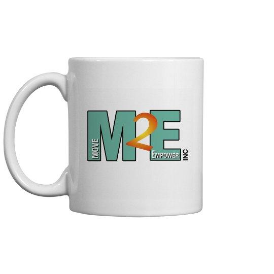 Move To Empower Coffee Mug Classic Logo