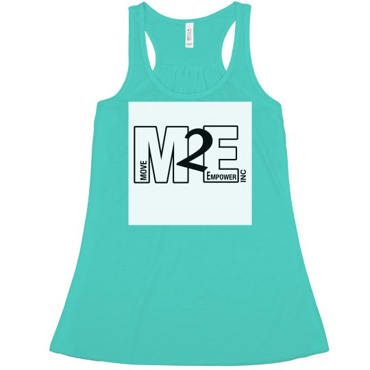 Move To Empower Ladies Flowy Racerback Tank